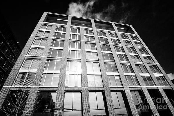 Wall Art - Photograph - capital dock apartments in dublins docklands dublin 2 Dublin Republic of Ireland Europe by Joe Fox