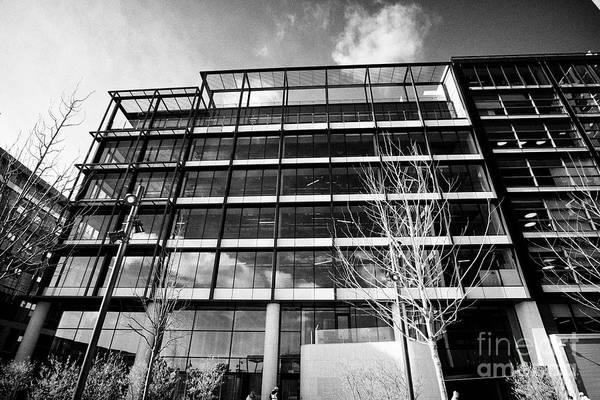 Wall Art - Photograph - capital dock office building leased by indeed in dublins docklands dublin 2 Dublin Republic of Irela by Joe Fox