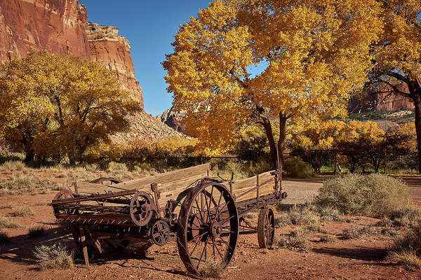 Wall Art - Photograph - Capital Reef Scenery by Paul Freidlund