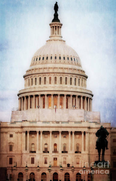 Photograph - Capitol Dome by Scott Kemper