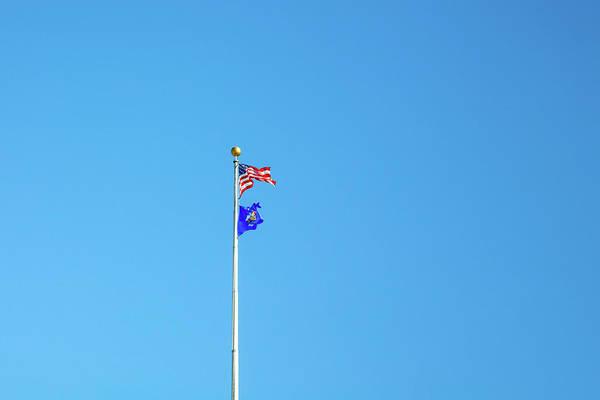 Wall Art - Photograph - Capitol Flag by Todd Klassy