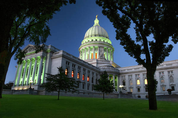 Photograph - Capitol Lights by Todd Klassy
