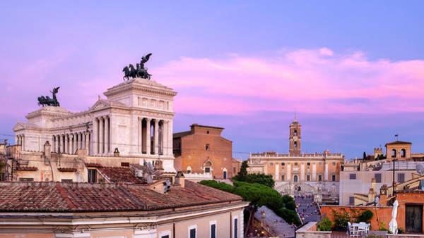 Photograph - Capitoline Hill by Fabrizio Troiani