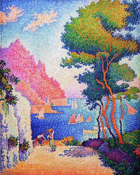 Wall Art - Painting - Capo Di Noli - Digital Remastered Edition by Paul Signac