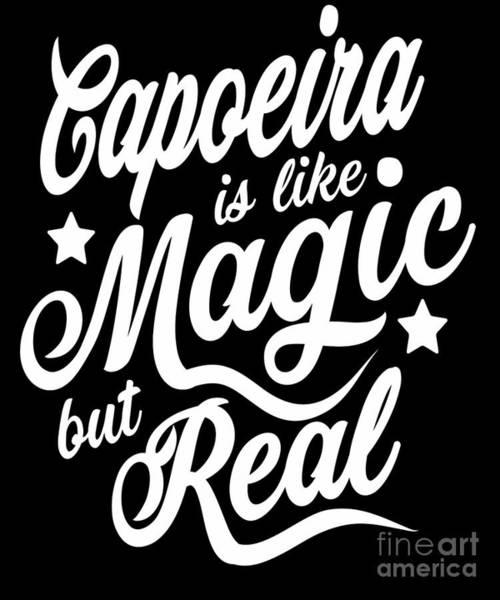 Capoeira Digital Art - Capoeira Is Like Magic But Real  by Dusan Vrdelja