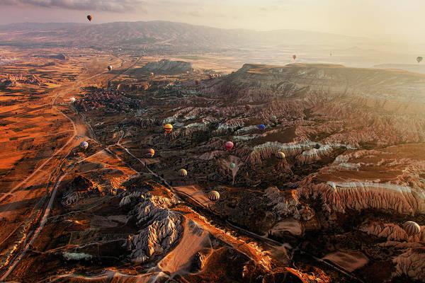 Cappadocia Photograph - Cappadocia - Scarred Earth by John And Tina Reid