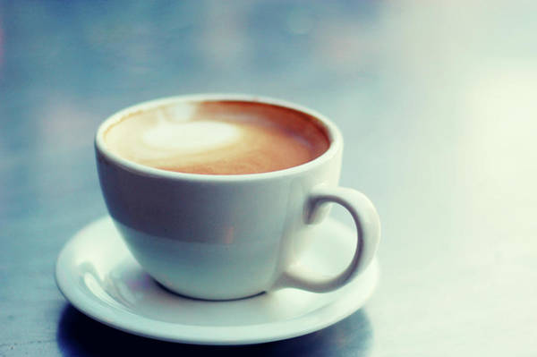 Handle Photograph - Cappuccino Cup With Foam by A.t. I Images