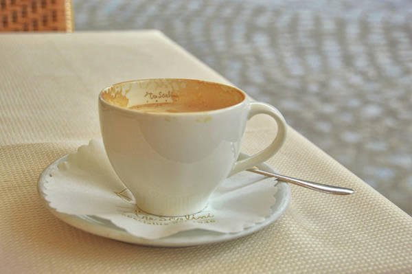 Photograph - Cappuccino In The Piazza by JAMART Photography