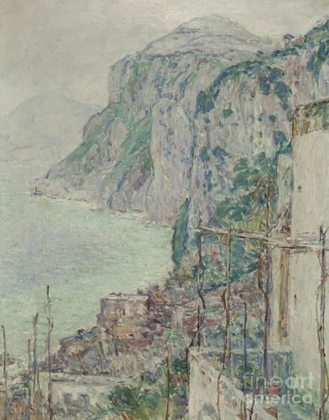 1897 Painting - Capri, 1897  by Childe Hassam
