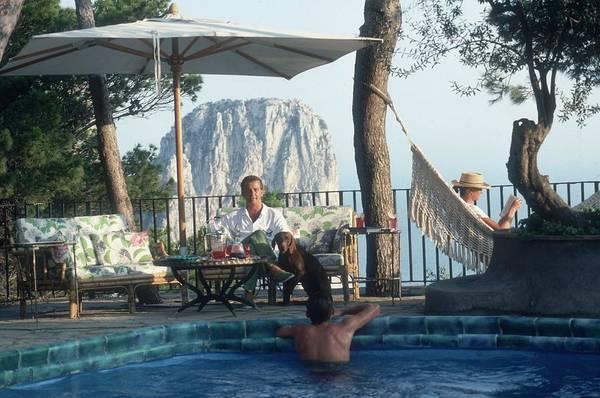 Wall Art - Photograph - Capri Hotel by Slim Aarons