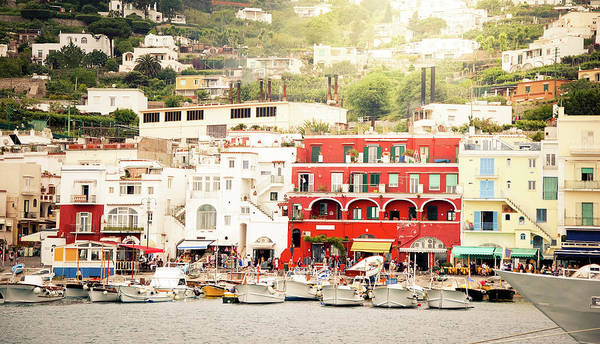 Quayside Photograph - Capri by Itchysan