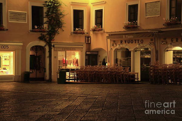 Photograph - Capri Square by Peter Skelton
