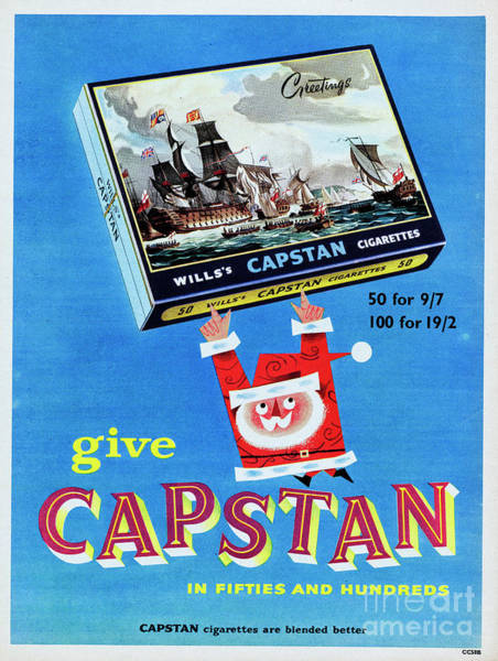Wall Art - Photograph - Capstan Cigarettes by Picture Post
