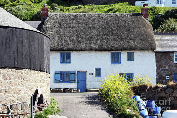 Wall Art - Photograph - Capstan Cottage, Sennen Cove by Terri Waters