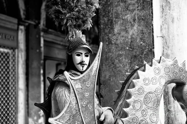 Photograph - Captain Of Carnival In Venice by John Rizzuto
