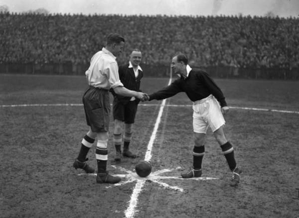 Ball Photograph - Captains Handshake by A Hudson