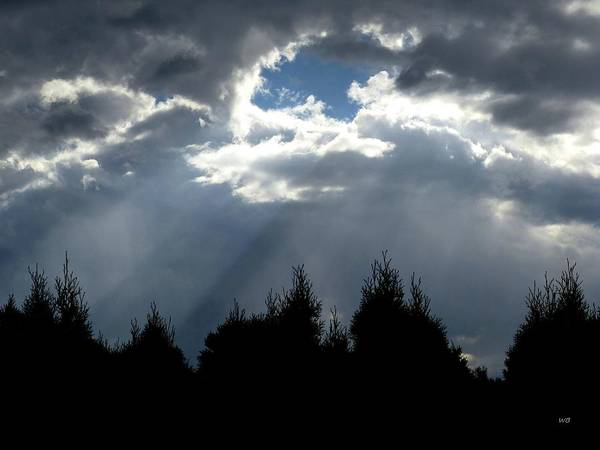 Photograph - Captivating Sun Rays by Will Borden