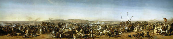 Wall Art - Painting - Capture Of The Smala Of Abd El-kader, Battle Of The Smala, 16 May 1843 by Horace Vernet