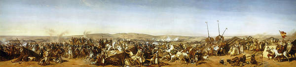 Wall Art - Painting - Capture Of The Smala Of Abd El-kader, Battle Of The Smala, 1843 by Horace Vernet