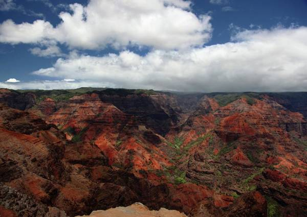 Waimea Canyon Photograph - Captured Memories by Photos Of Landscapes And Other Destinations Around The World