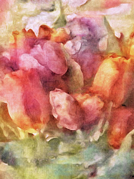 Art Print featuring the mixed media Captured Spring by Susan Maxwell Schmidt