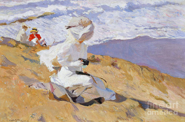 Camera Painting - Capturing The Moment, 1906  by Joaquin Sorolla
