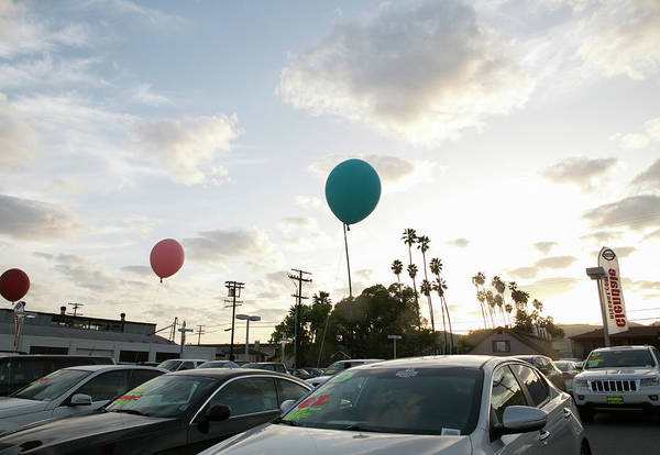 Glendale Wall Art - Photograph - Car Lot by Alyson Aliano