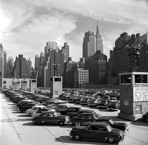 Parking Photograph - Car Park by Douglas Grundy