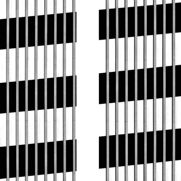 Photograph - Car Park Grid 1 by Stuart Allen