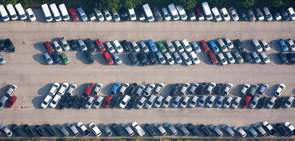 Parking Photograph - Car Parking Place by Mbbirdy