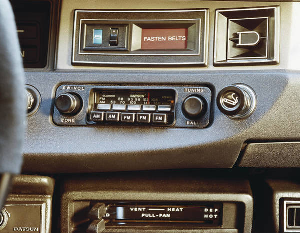 Car Stereo Photograph - Car Radio, Close-up by Tom Kelley Archive