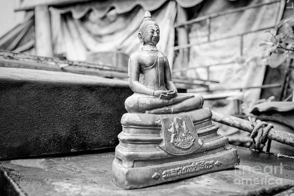 Wall Art - Photograph - Car Roof Buddha by Dean Harte