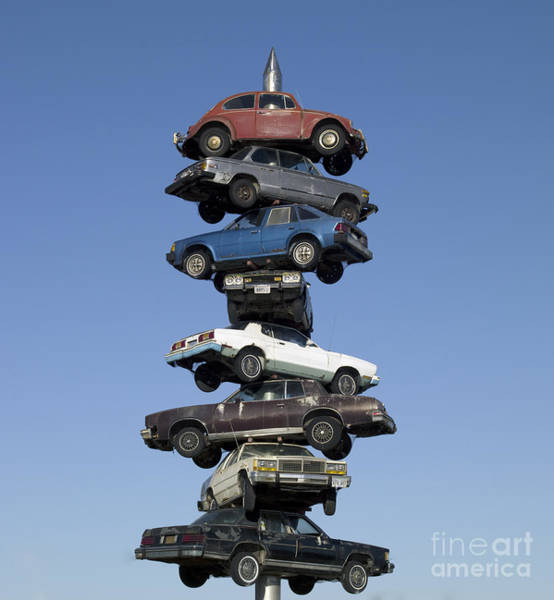 Photograph - Car Spindle by Carol Highsmith
