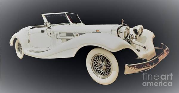 Wall Art - Photograph - 1934 Mercedes Benz by Suzanne Wilkinson