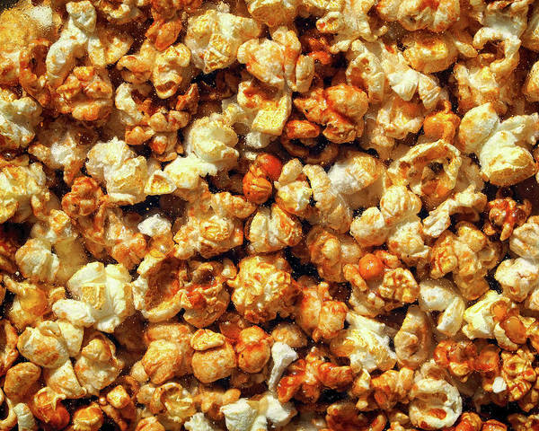 Photograph - Caramel Corn Behind Glass by Bill Swartwout Photography