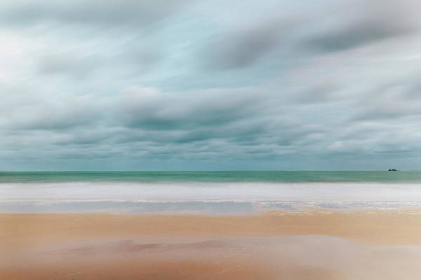 St Ives Photograph - Carbis Bay Beach Looking To Godrevy by Mark Doherty / Robertharding