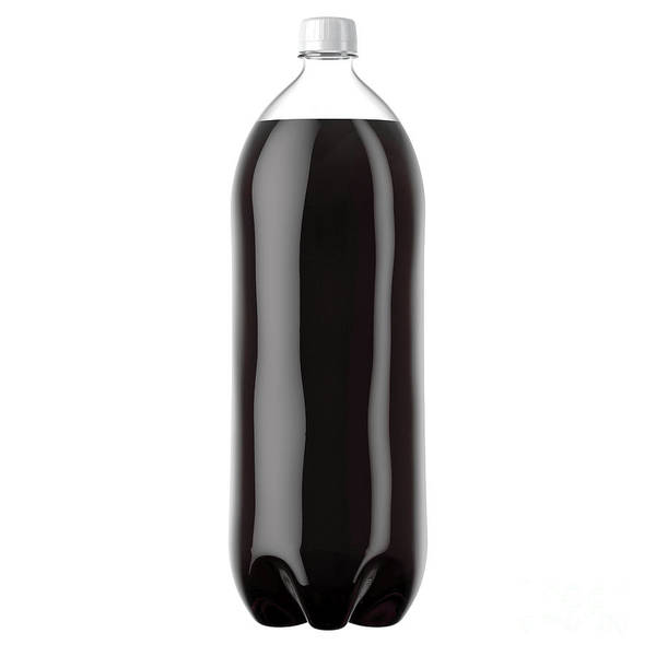 Wall Art - Digital Art - Carbonated Soft Drink Plastic Bottle by Allan Swart