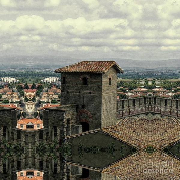 Wall Art - Photograph - Carcassonne Citadel by Luther Fine Art
