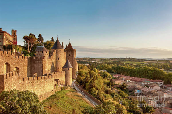 Wall Art - Photograph - Carcassonne Citadel by Delphimages Photo Creations