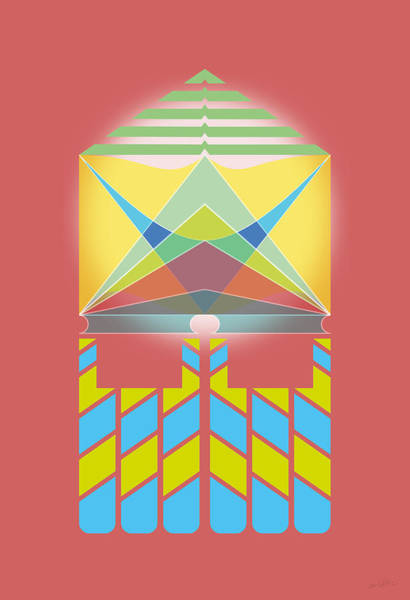 Wall Art - Digital Art - Cardinal by Enrique Guzman