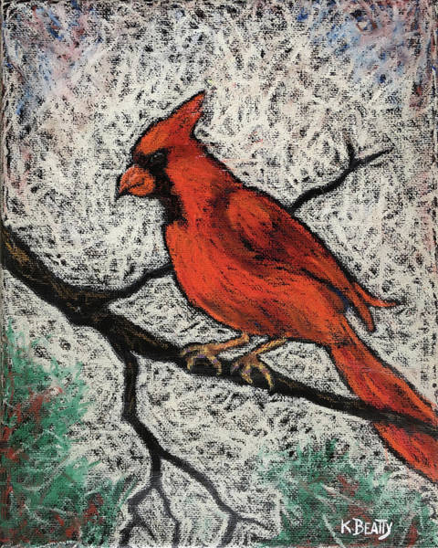 Painting - Cardinal Red by Karla Beatty