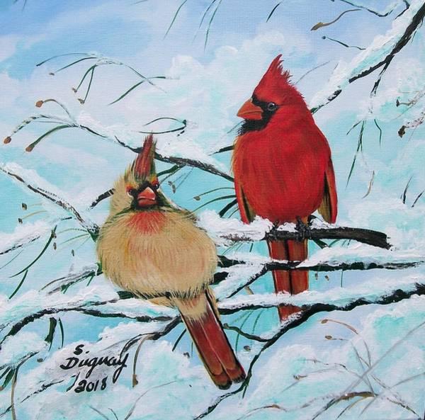 Painting - Cardinalis by Sharon Duguay