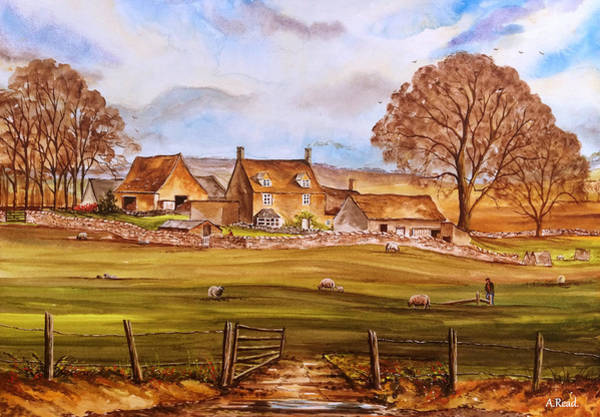 Wall Art - Painting - Careys Farm Edit by Andrew Read