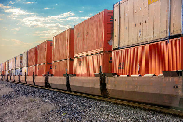 Photograph - Cargo Containers by Todd Klassy