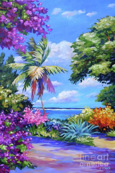 Wall Art - Painting - Caribbean Colours by John Clark