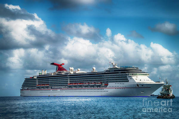Photograph - Caribbean Cruising by Judy Hall-Folde
