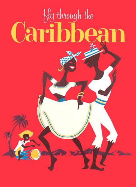 Wall Art - Digital Art - Caribbean Dancers by Long Shot