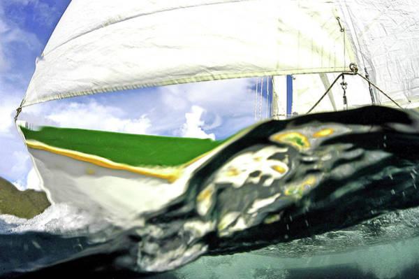 British Virgin Islands Photograph - Caribbean Sailing by Armando F. Jenik