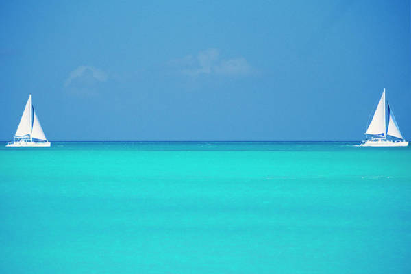 Nautical Photograph - Caribbean, Turks And Caicos Islands by Medioimages/photodisc