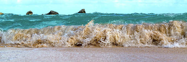 Wall Art - Photograph - Caribbean Wave Special C by Betsy Knapp